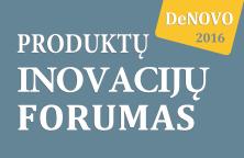 Produktų Inovacijų Forumas DeNOVO