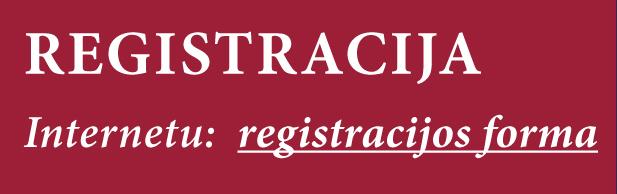 Registracijos forma
